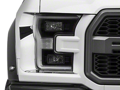 ACC Polished Headlight Trim (17-18 F-150 Raptor)