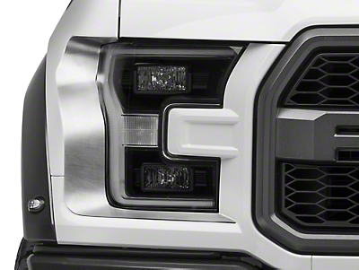 ACC Brushed Headlight Trim (17-18 Raptor)