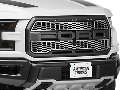 ACC Upper Overlay Grilles - Polished (2017 Raptor)
