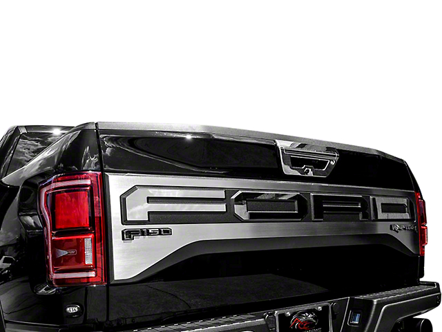 ACC Polished Tailgate Plate (17-18 F-150 Raptor w/ Tailgate Applique)