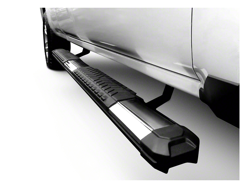 Black Horse Off Road Cutlass Running Boards - Aluminum (04-08 SuperCrew)