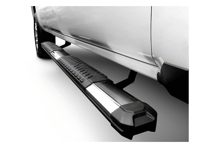 Black Horse Off Road Cutlass Running Boards - Black (04-08 SuperCrew)