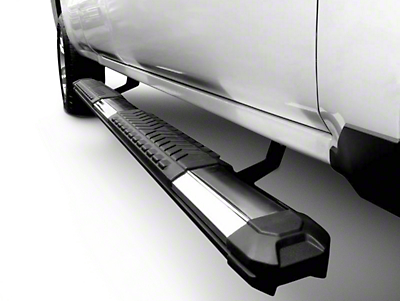 Black Horse Off Road Cutlass Running Boards - Black (04-08 F-150 SuperCrew)