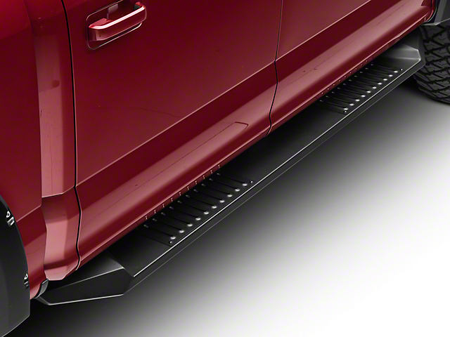 Black Horse Off Road Armour Running Boards - Black (15-19 F-150 SuperCrew)