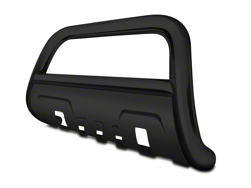 Black Horse Off Road 3.5 in. Savannah Oval Bull Bar - Black (04-17 All, Excluding Raptor)