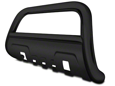 Black Horse Off Road 3.5 in. Savannah Oval Bull Bar - Black (04-18 All, Excluding Raptor)