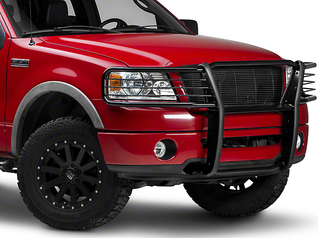 Black Horse Off Road Grille Guard - Black (04-08 All)