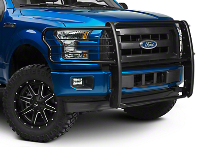 Black Horse Off Road Grille Guard - Black (15-17 F-150, Excluding Raptor)