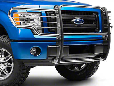 Black Horse Off Road Grille Guard - Stainless (09-14 F-150, Excluding Raptor)