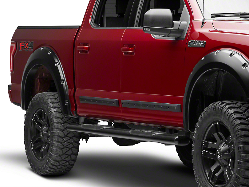 Mmd F 150 Bolt On Look Body Side Moldings Matte Black