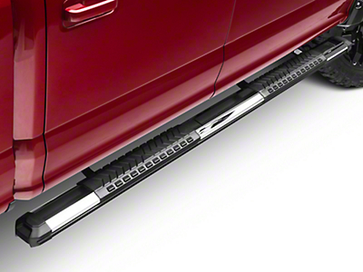 Black Horse Off Road Cutlass Running Boards - Aluminum (15-17 SuperCab, SuperCrew)