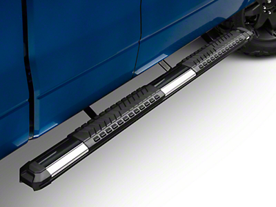 Black Horse Off Road Cutlass Running Boards - Black (09-14 SuperCab, SuperCrew)