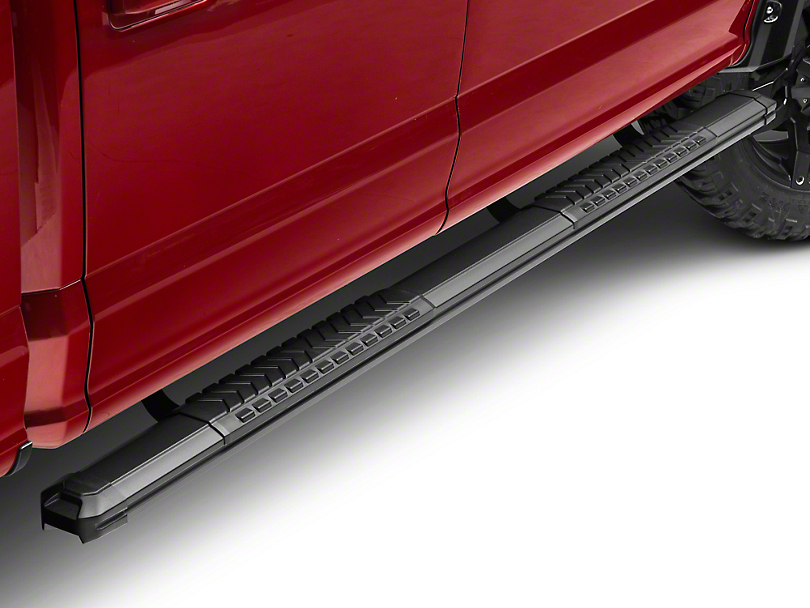 Black Horse Off Road Cutlass Running Boards - Black (15-18 F-150 SuperCab, SuperCrew)