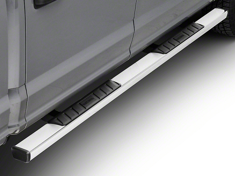 Black Horse Off Road Summit Running Boards - Stainless (15-18 SuperCab, SuperCrew)