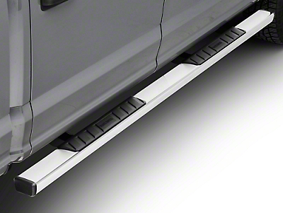 Black Horse Off Road Summit Running Boards - Stainless (15-18 F-150 SuperCab, SuperCrew)