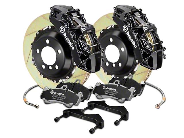 Brembo GT Series 6-Piston Front Brake Kit - 15 in. Type 1 Slotted Rotors - Black (17-18 Raptor)