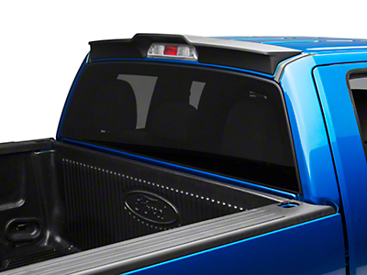MMD Pre-Painted Rear Truck Cab Spoiler - Matte Black (09-14 F-150)