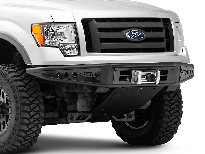 Addictive Desert Designs Venom Front Bumper w/ Winch Mount (09-14 All, Excluding EcoBoost & Raptor)