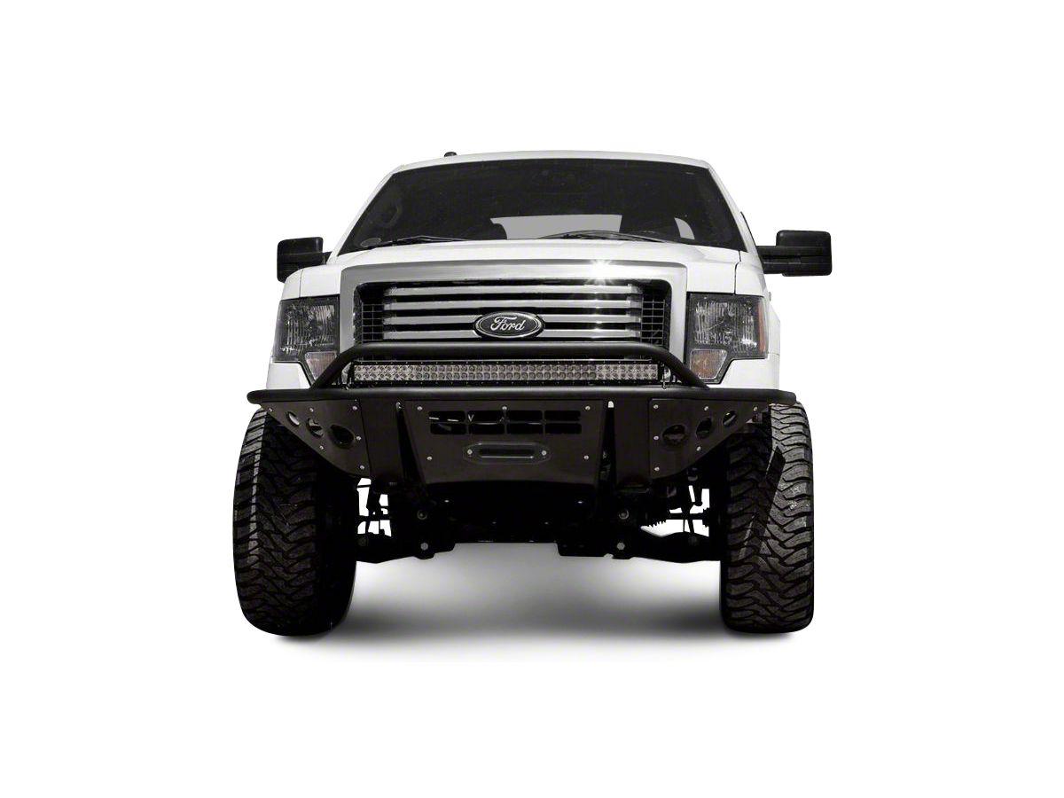 Addictive Desert Designs Stealth Front Bumper W Winch Mount 09 14 F 150 Excluding Ecoboost Raptor