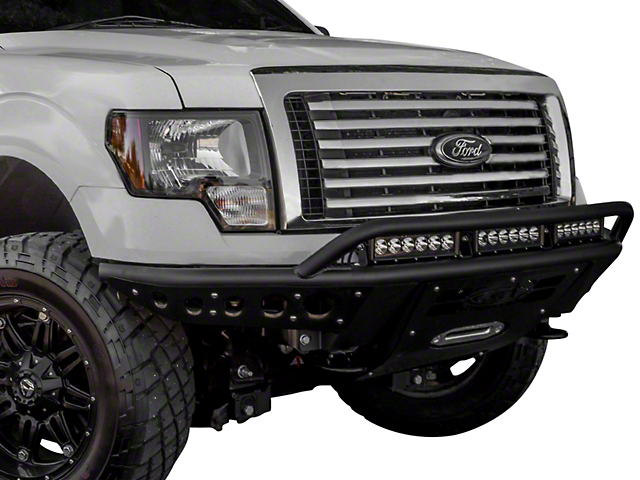 Addictive Desert Designs Stealth R Front Bumper w/ Winch Mount (09-14 F-150, Excluding EcoBoost & Raptor)