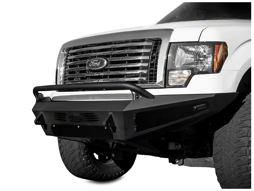 Addictive Desert Designs HoneyBadger Front Bumper w/ Lockable Tool Boxes (09-14 All, Excluding EcoBoost & Raptor)