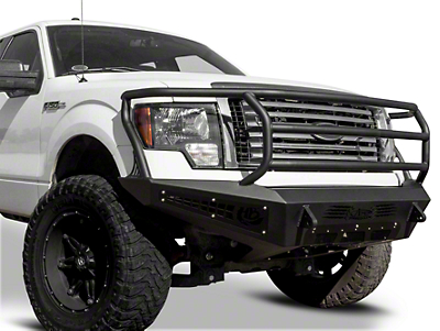 Addictive Desert Designs HoneyBadger Rancher Front Bumper w/ Intercooler Vents (09-14 All, Excluding Raptor)