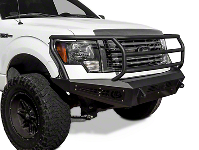 Addictive Desert Designs HoneyBadger Rancher Front Bumper w/o Winch Mount (09-14 All, Excluding EcoBoost & Raptor)