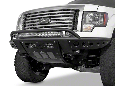 Addictive Desert Designs Stealth R Front Bumper w/ Top Hoop (09-14 All, Excluding Raptor)