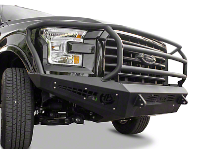 Addictive Desert Designs HoneyBadger Rancher Front Bumper (15-17 3.5L V6, 5.0L F-150)