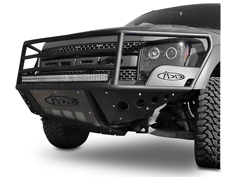 Addictive Desert Designs Rancher Front Bumper w/o Side Panels (10-14 Raptor)
