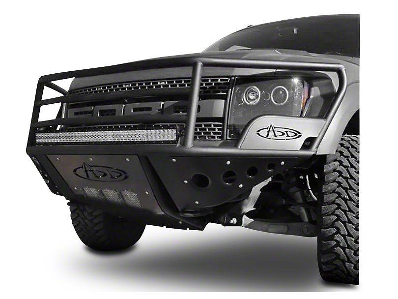 Addictive Desert Designs Rancher Front Bumper w/ Winch Mount & w/o Side Panels (10-14 Raptor)