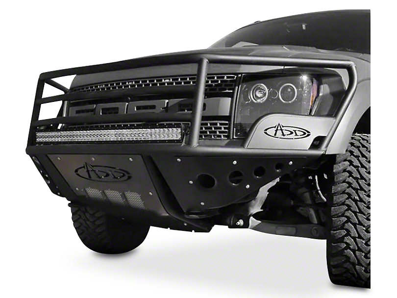Addictive Desert Designs Rancher Front Bumper w/ Stealth Panels (10-14 Raptor)