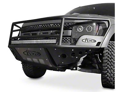 Addictive Desert Designs Rancher Front Bumper w/ Stealth Panels (10-14 Raptor)