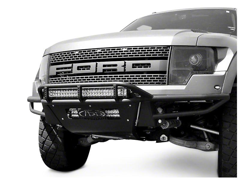 Addictive Desert Designs Race Series Front Bumper w/ Stealth Panels & Winch Mount (10-14 Raptor)