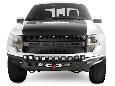 Addictive Desert Designs Race Series R Front Bumper w/ Aluminum Valance & Winch Mount (10-14 Raptor)