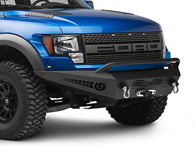 Addictive Desert Designs HoneyBadger Front Bumper w/ Winch Mount (10-14 F-150 Raptor)
