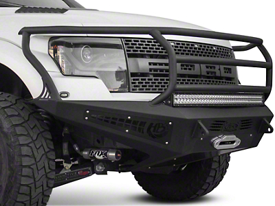 Addictive Desert Designs HoneyBadger Rancher Front Bumper w/ Winch Mount (10-14 Raptor)