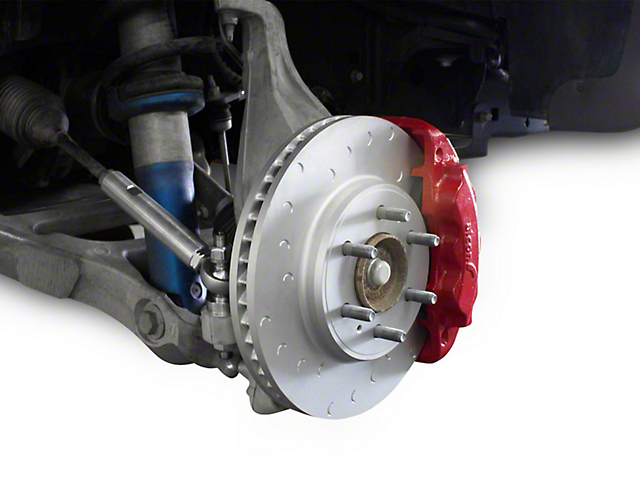 Addictive Desert Designs Alcon Slotted Front Brake Kit (09-14 F-150)