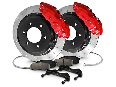 Addictive Desert Designs Alcon Slotted Rear Brake Kit (09-14 All)