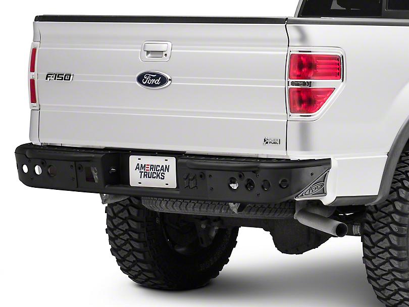 Addictive Desert Designs Venom Rear Bumper - Pre-Drilled for Backup Sensors (09-14 All)