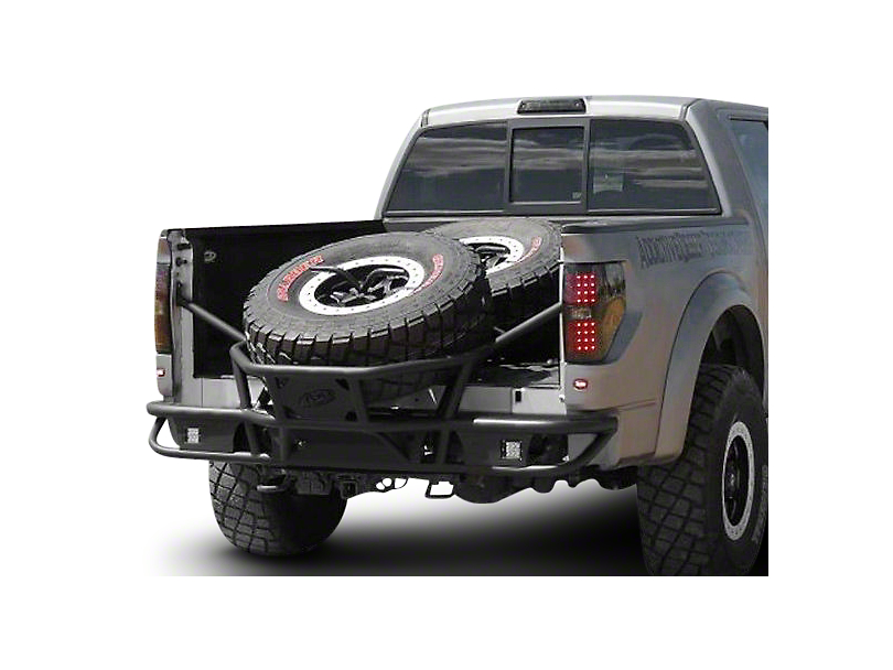 Addictive Desert Designs Race Series Tire Carrier Rear Bumper (09-14 All)