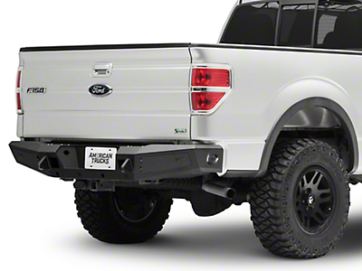 Addictive Desert Designs HoneyBadger Rear Bumper - Pre-Drilled for Backup Sensors (09-14 F-150)