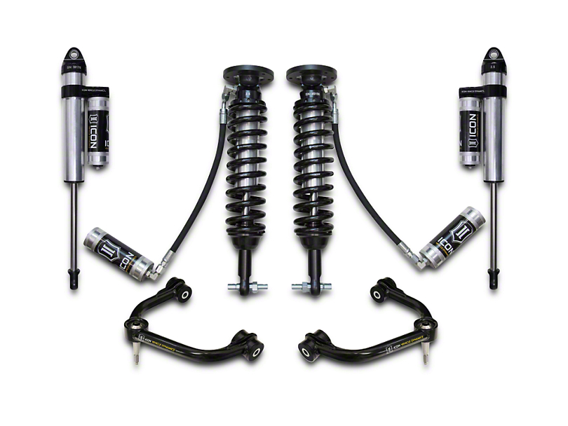 ICON Vehicle Dynamics 2-2.5 in. Suspension Lift System - Stage 4 (15-18 4WD, Excluding Raptor)