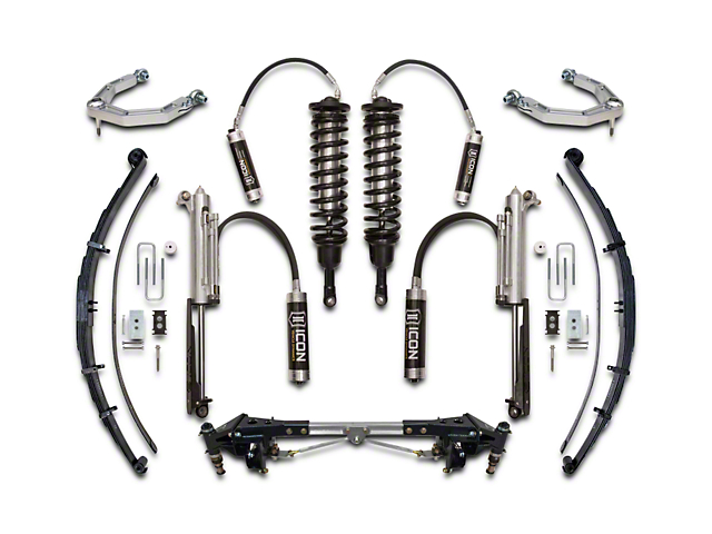 ICON Vehicle Dynamics 3.0 Performance Suspension System; Stage 4 (10-14 F-150 Raptor)