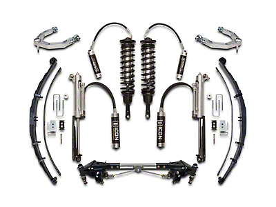 ICON Vehicle Dynamics 3.0 Performance Suspension System - Stage 4 (10-14 Raptor)