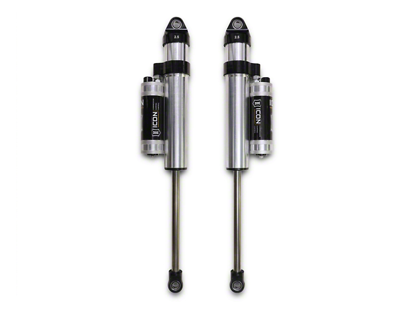ICON Vehicle Dynamics V.S. 2.5 Series Rear Piggyback Reservoir Shocks w/ CDCV for 0-2 in. Lift (09-14 2WD; 04-14 4WD, Excluding Raptor)