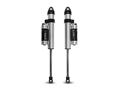 ICON Vehicle Dynamics V.S. 2.5 Series Rear Piggyback Reservoir Shocks w/ CDCV for 0-3 in. Lift (04-08 2WD)