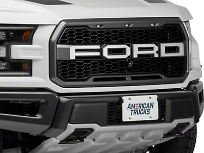 ACC Brushed F-O-R-D Grille Letters (17-18 Raptor)