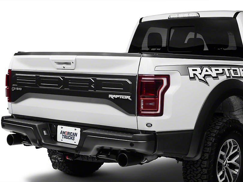 ACC Polished F-150 & Raptor Tailgate Badges (2017 Raptor)