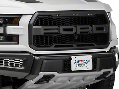 ACC Polished Front Lower Bumper Lead Grilles (17-18 F-150 Raptor)